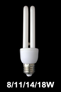12mm tube U shape CFL lamp