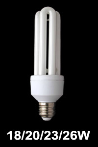12mm tube U shape energy saving lamp